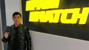 Житель Алматинской области выиграл iPhone 12 Pro в акции Parimatch