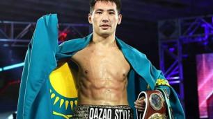 Алимханулы поддержал Головкина перед боем за два титула