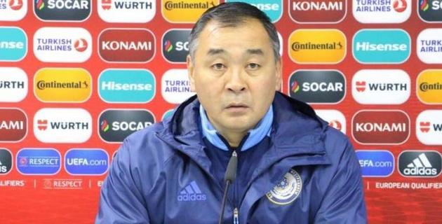 Байсуфинов стал кандидатом в главные тренеры сборной Казахстана