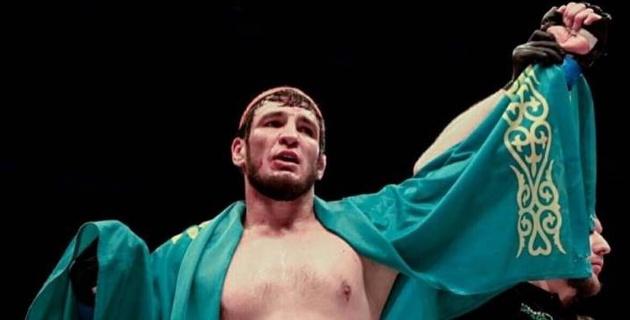 Казахстанец жестко нокаутировал экс-бойца UFC на турнире АСА 115 в Москве