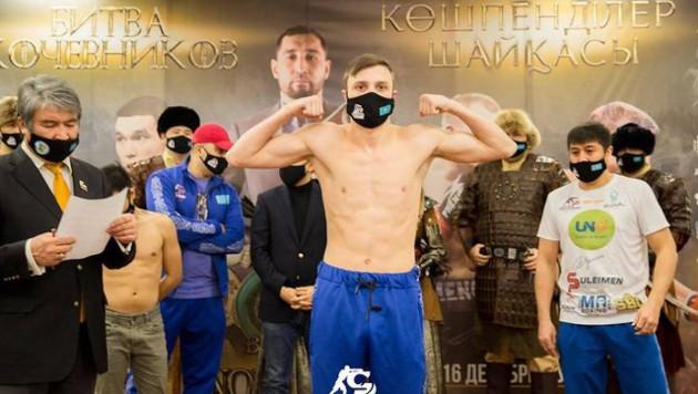 Казахстанец решением победил филиппинца на вечере бокса в Нур-Султане