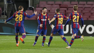 """""""Барселона"""" выиграла у лидера и поднялась на пятое место в чемпионате Испании"""