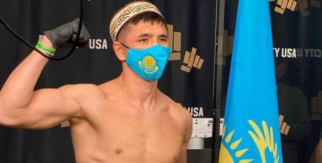 Мадияр Ашкеев успешно прошел взвешивание перед боем с небитым американцем в США