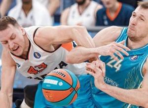 """БК """"Астана"""" одержал третью победу в девяти играх Единой лиги ВТБ"""