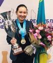 Шахматистка Жансая Абдумалик стала чемпионкой Казахстана среди женщин