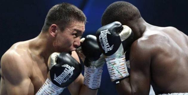 Казахстанский боксер из веса Головкина победил узбека в Алматы