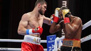 Али Ахмедов проиграл нокаутом бой за титул чемпиона мира и потерпел первое поражение в карьере