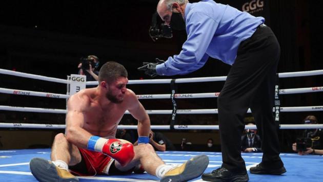 Видео полного боя за титул чемпиона мира, в котором Али Ахмедов сенсационно проиграл нокаутом