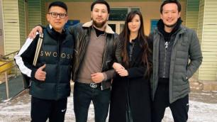 Сабина Алтынбекова отметила свадьбу, накормив воспитанников детского дома