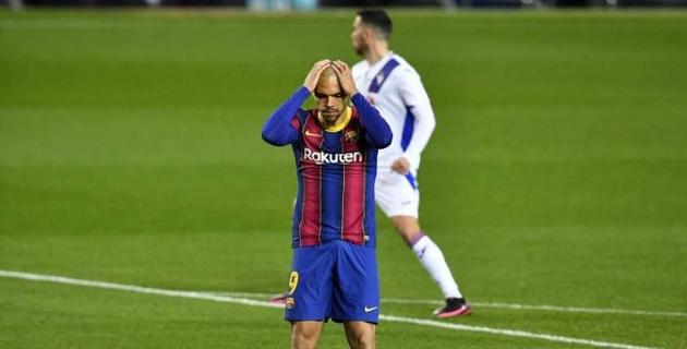"""""""Барселона"""" без Месси потеряла очки в матче с незабитым пенальти и отмененным голом"""