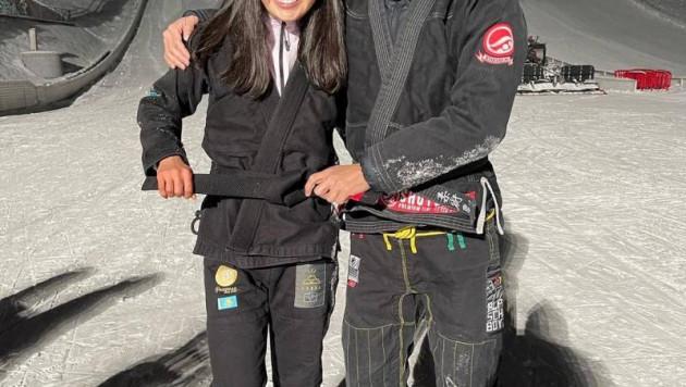 Двукратная чемпионка мира стала первой девушкой с черным поясом по джиу-джитсу в Казахстане