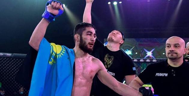 Отправил в нокдаун Рахмонова. С кем будут конкурировать казахстанские бойцы в лиге Хабиба