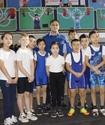 Илья Ильин посетил открытие обновленного зала тяжелой атлетики в Актобе