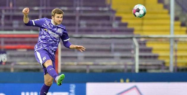 Немецкий клуб отметил достижение футболиста с 11 играми за сборную Казахстана