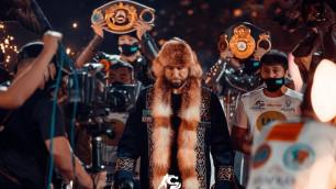 Непобежденному казахстанцу с титулами от WBC, WBA и IBF предрекли чемпионский бой в 2021 году