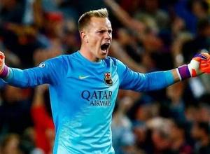 """Тер Штеген дважды отразил пенальти и протащил """"Барселону"""" в финал Суперкубка Испании"""