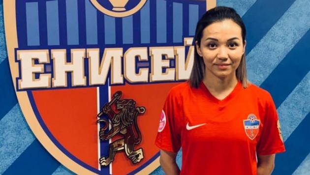 Футболистка сборной Казахстана подписала контракт с российским клубом