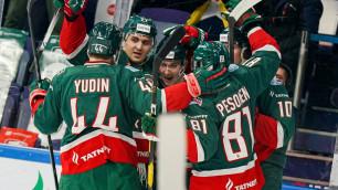 """Лидер конференции """"Барыса"""" первым в КХЛ обеспечил себе выход в плей-офф"""
