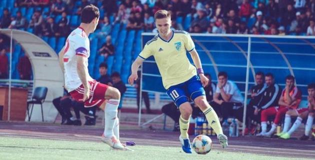 Проходивший просмотр в России казахстанский футболист заинтересовал клуб КПЛ