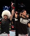 Хабиб вышел в октагон и поддержал казахстанца Сергея Морозова после поражения в дебютном бою в UFC