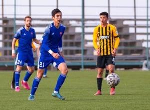 18-летний казахстанский футболист находится на просмотре в российском клубе