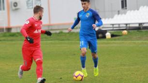 Агент сообщил об интересе к казахстанскому футболисту со стороны зарубежного клуба
