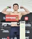 Жалгас Жумагулов прошел взвешивание перед вторым боем в UFC