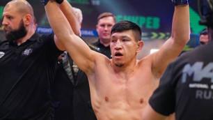 Куат Хамитов нокаутировал российского файтера в первом раунде на турнире Fight Nights