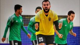Бразильский вратарь покинул казахстанский клуб