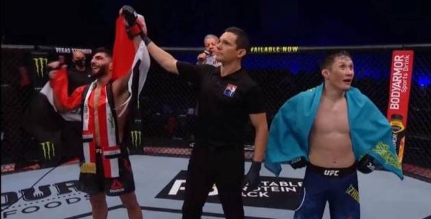 Жалгас Жумагулов удивился своему поражению в UFC. Видео реакции