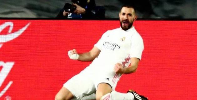 "Дубль Бензема принес ""Реалу"" разгромную победу в чемпионате Испании"