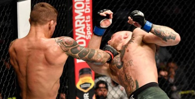 Порье после победы над МакГрегором провозгласил себя чемпионом UFC вместо Хабиба