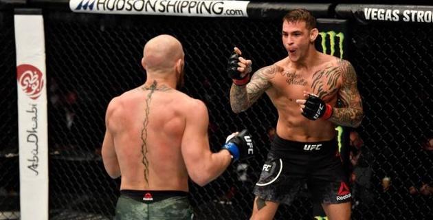 Видео полного боя. Как Порье нокаутировал МакГрегора на турнире UFC