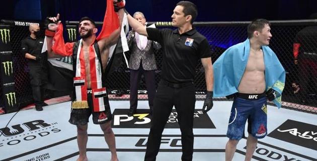 """""""Его народ не оставит меня в покое"""". Обидчик Жумагулова по дебюту в UFC отреагировал на второе поражение казахстанца"""