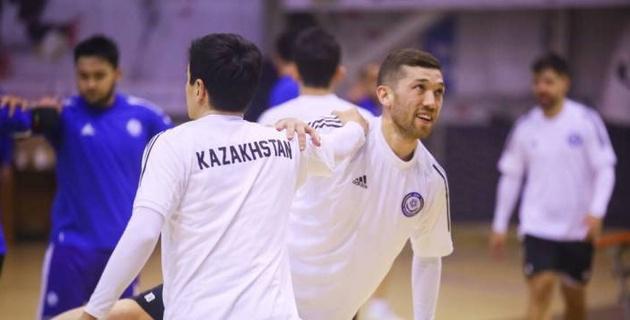 Сборная Казахстана по футзалу произвела замену в составе перед вторым матчем отбора на Евро-2022
