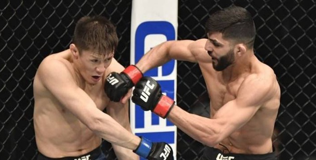 Стало известно, сколько заработал Жалгас Жумагулов за второй бой в UFC