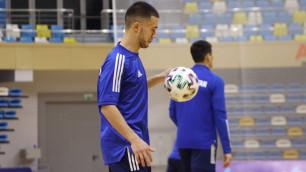 Матч отбора на Евро-2022 по футзалу с участием сборной Казахстана перенесен