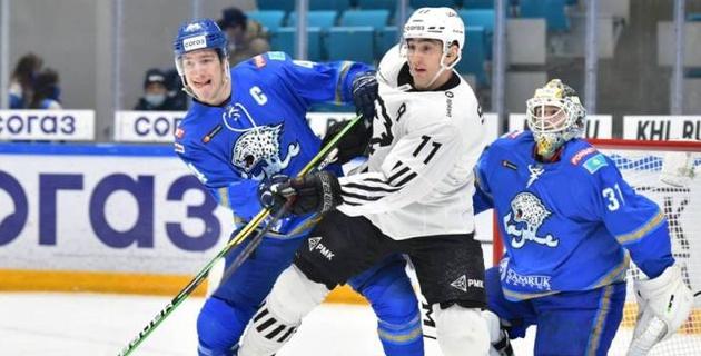 """""""Барыс"""" потерпел поражение от прямого конкурента за место в плей-офф КХЛ"""