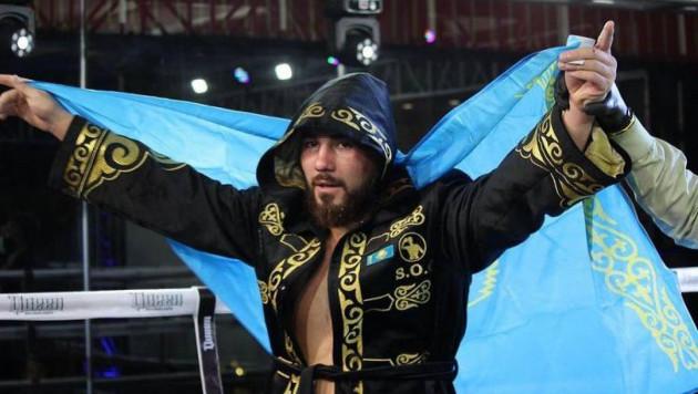 Гимн Казахстана перепутали на бое Садриддина Ахмедова в Мексике