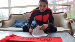Клуб КПЛ подписал футболиста сборной Кыргызстана