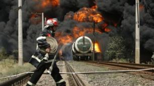 На железнодорожном вокзале Челябинска взорвалась цистерна с бромом