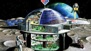 Международная компания решила открыть пиццерию на Луне