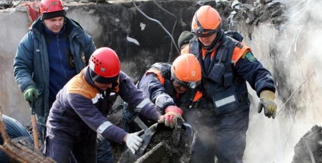 При обрушении на строящемся объекте АТЭС-2012 в Приморье погиб человек