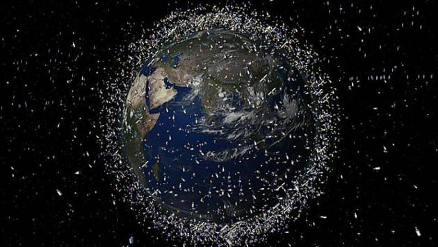NASA призвали прибраться в космосе