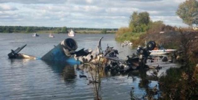 Опознаны тела 14 погибших при крушении Як-42 под Ярославлем