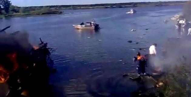 """Найден """"черный ящик"""" погибшего с хоккеистами Як-42"""