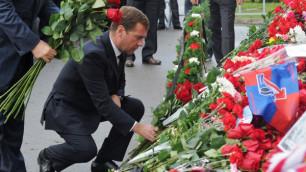 """Медведев поручил возродить ХК """"Локомотив"""""""