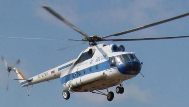 Вертолет Ми-8 совершил аварийную посадку под Иркутском