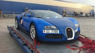 В Алматы прибыл Bugatti Veyron за 1,4 миллиона долларов