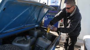 Таджикистан остался без бензина